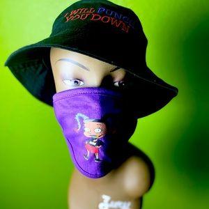 "Kbreezy inspired ""i will punch U down"" hatW mask"